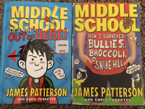 Middle School Books by James Patterson for Sale