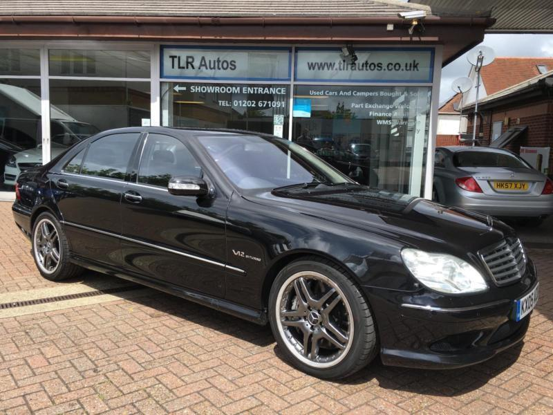 Mercedes Benz S65 V12 Bi Turbo Amg 603 Bhp 49 000mls In Poole