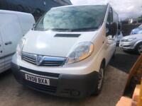 2008 Vauxhall Vivaro 2.0CDTI SWB COMPLETE WITH M.O.T AND WARRANTY
