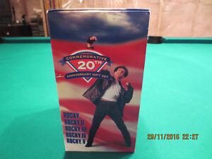 Coffret de Rocky Balboa 20 ième Anniverssaire VHS Québec City Québec image 2