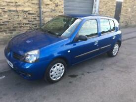 LHD LEFT HAND DRIVE 2007 RENAULT CLIO LOW MILES UK REGISTER VERY VERY CLEAN CAR