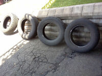 4 winter tires in excellent condition