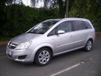 2008 Vauxhall Zafira 1.9 CDTi Design 5dr