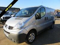 2011 11 RENAULT TRAFIC 2.0 SL29 DCI115 BHP WITH AIR CON 50815 MILES ONLY DIESEL
