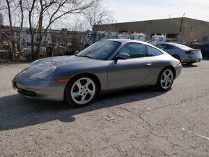 2001 Porsche 911 Carrera Cpe-RWD  6 speed manual