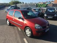 Renault Clio 1.2 Extreme 2003/53 Only 102k 2 Keys & 12 Months Mot