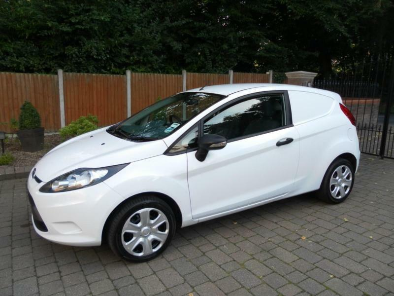 2012 62 reg ford fiesta 1 4 tdci van diesel in. Black Bedroom Furniture Sets. Home Design Ideas
