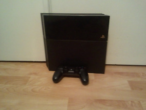 PS4 set and 32' TV
