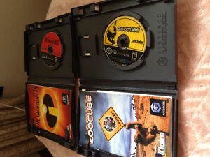 The Incredibles and Zoocube for gamecube