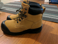 Steelto shoes for warehouse and construction
