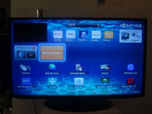 Samsung SmartTv 46 inch with WiFi -$330