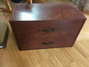 Small Two Drawer Cabinet