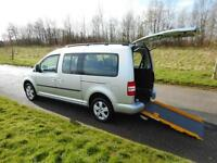 2011 Volkswagen Caddy 1.6 TDI Auto Automatic WHEELCHAIR ACCESSIBLE DISABLED WAV