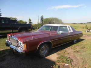 1978 CHRYSLER NEWPORT ST. REGIS COUPE PRICE REDUCED