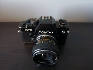 Contax RTS II with 28mm f2.8 lens