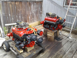 two completly rebuilt 327s