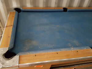 Used Panther Valley Coin Operated Pool Tables