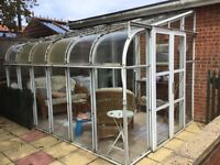Lean to conservatory 12x8
