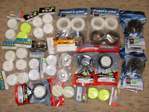 RC 1/10 Buggy Tires & Wheels, Various Brands / Types / Sizes