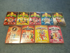 ENTIRE COMPLETE Mighty Morphin Power Rangers  DVD - Season 1-6