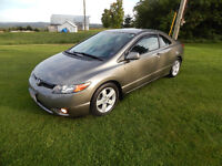 2008 Honda Civic 2 Door Sport Coupe LX