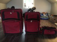 3 pc luggage bags
