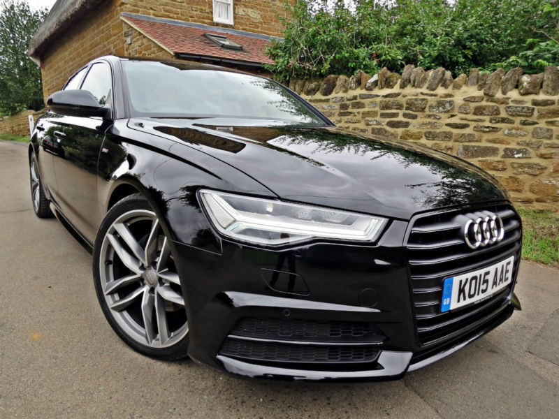 2015 audi a6 saloon 2 0 tdi ultra s line black edition. Black Bedroom Furniture Sets. Home Design Ideas