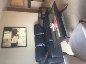 Fully furnished comfortable 2 bedroom plus den condo