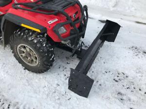 Pelle à neige pour VTT 4 pieds ou 5pieds NEUFFFF
