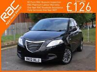 2012 Chrysler Ypsilon 0.9 Twinair SE 5 Door 5 Speed Air Con Just 1 Lady Owner On