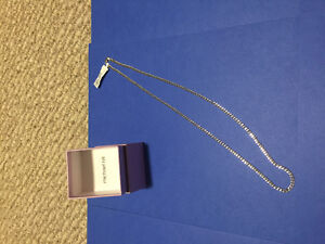 "Brand New with tags: 22"" 10K Curb Chain"