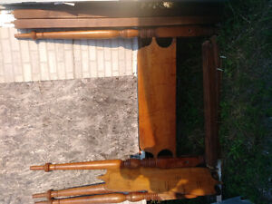Antique cherry poster bed 1820s double size