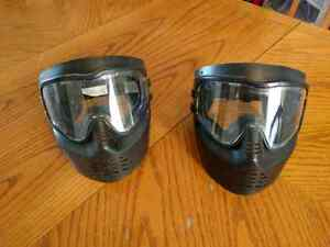 Paintball / airport masks
