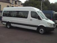 MERCEDES SPRINTER 17 SEAT WHEELCHAIR ACCESSIBLE MINIBUS COIF DIGITAL TACHO PSV