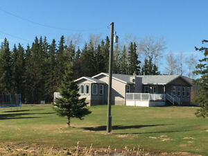 House on acreage for Rent in High Prairie, Ab