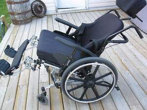 Orion ll heavy duty Tilting Wheelchair Very good condition Williams Lake Cariboo Area image 3