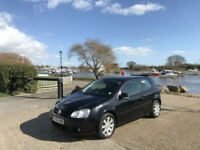 2006/06 Volkswagen Golf 2.0 GT TDI 3 Door Hatchback Black