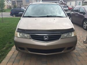 2003 Honda Odyssey Minivan, Van With Winter & Summer Tiers