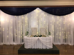 backdrop rentals and more for events, weddings, parties