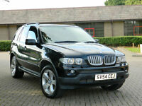 2005 54 REG BMW X5 4.4i V8 SPORT AUTO
