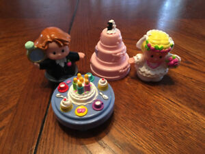 Fisher Price Little People Wedding & Party