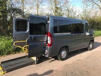 2012 Peugeot Boxer 2.2 HDi H1 100ps WHEELCHAIR ACCESSIBLE VEHICLE 4 door Whee...