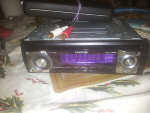 Kenwood KDC-X589 4V Preout CD Receiver with MP3/WMA/AAC Playback