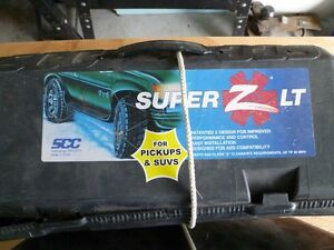 Super Z LT Cable Chains Comox / Courtenay / Cumberland Comox Valley Area image 2