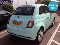 2016 FIAT 500 1.2 Lounge 3dr [Start Stop]