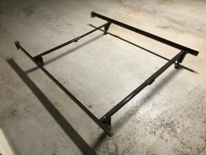 adjustable bed frame on wheels,twin double only
