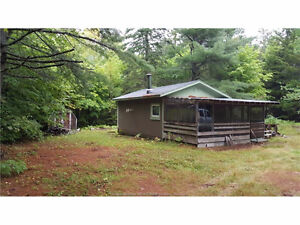 Charming camp & 5 Acres located in Elgin, NB - 43 Lot 6 Lower RD