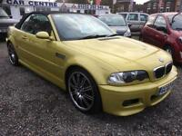 2002 BMW M3 M3 CONVERTIBLE LOW MILES BIG SPEC