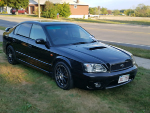 JDM 2002 Subaru Legacy B4  RSK Twin turbo RIGHT HAND DRIVE