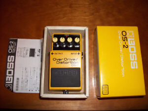 BOSS - Overdrive / Distortion OS-2 Effect Pedal w/Box & Booklet